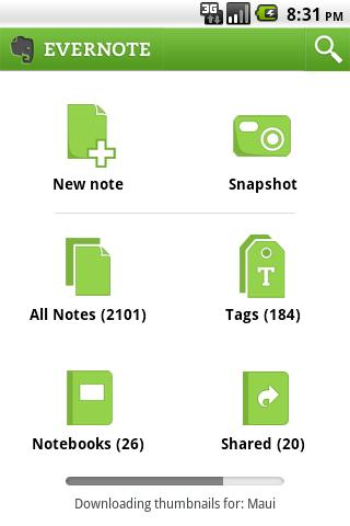 Evernote - Essential Android Tablet App