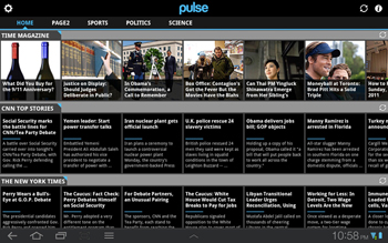 Pulse - Essential Android Tablet App