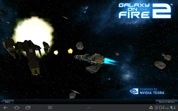 Galaxy on Fire 2 THD Android App