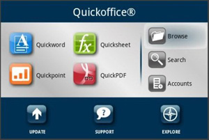 Quickoffice - Best Kindle Fire Apps