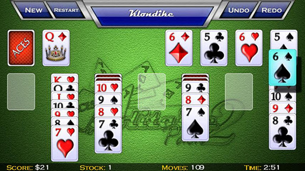 Aces Solitaire Pack 2 for Kindle Fire