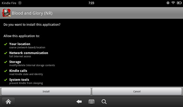 Sideloading apps on Kindle Fire
