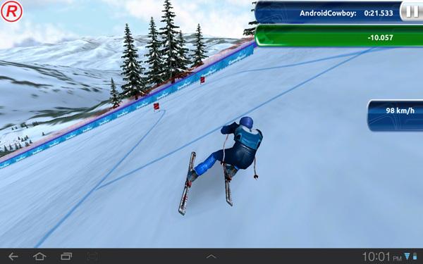 free ski jumping games