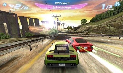 Asphalt 6 on Kindle Fire