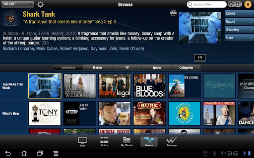 TiVo for Android Tablets