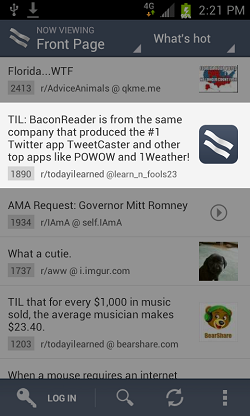 BaconReader-kindle-fire