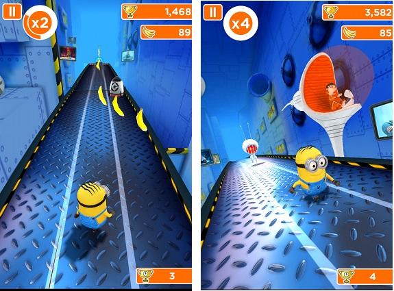 minion rush no wifi games