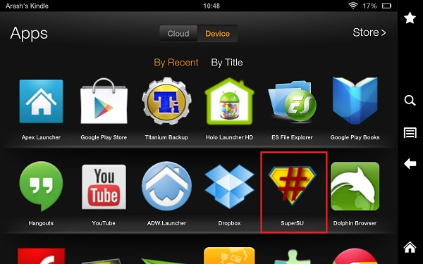 Post image for Root Kindle Fire HD 7.4.6