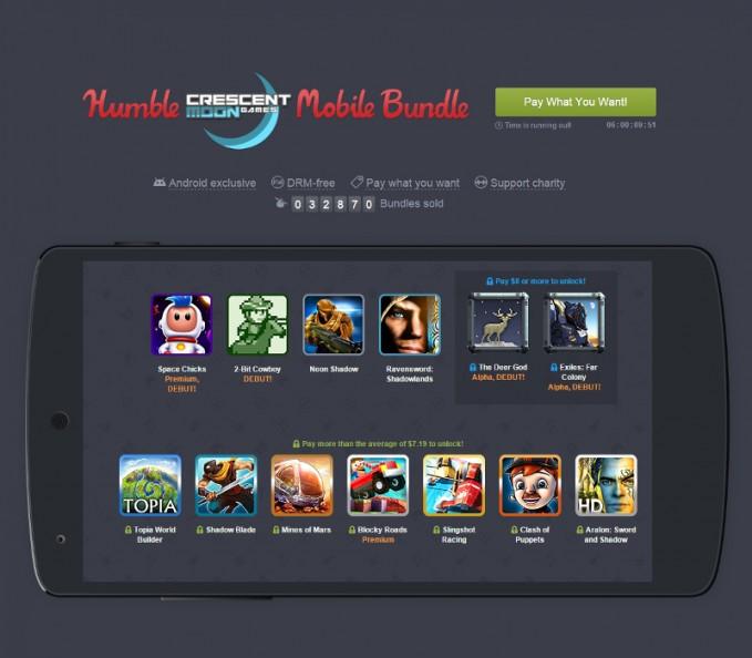 Humble Bundle Crescent Moon Bundle Featured