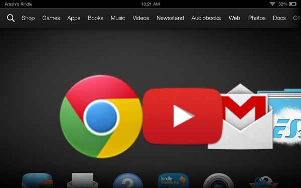 How to Add Google Account to Kindle Fire HDX | Android