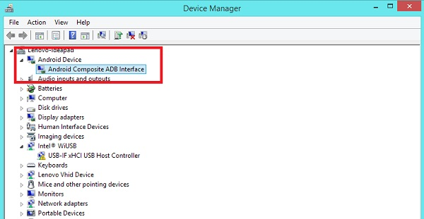Htc Android adb Interface Driver