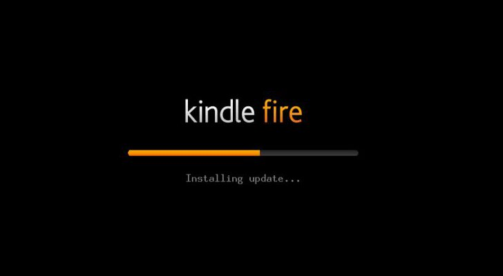 Kindle Fire HDX update