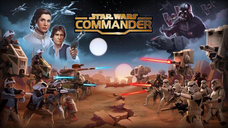 Star Wars Commander out for Android